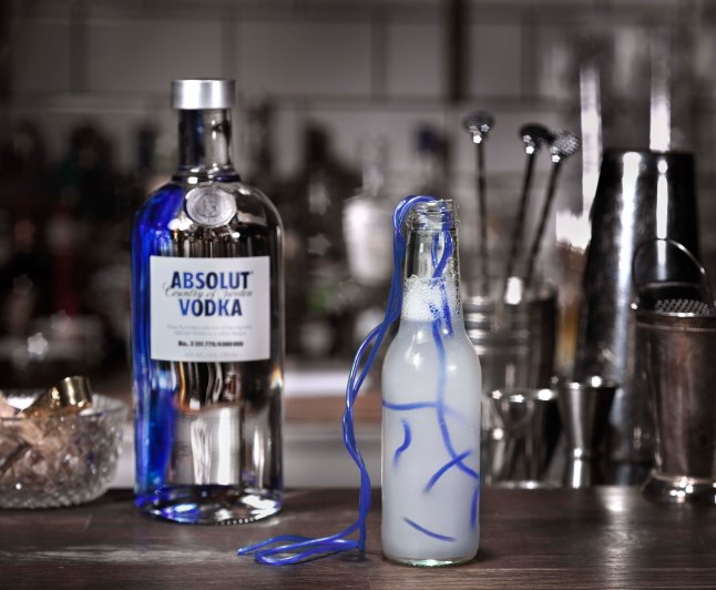 Absolut MESSAGE IN A BOTTLE