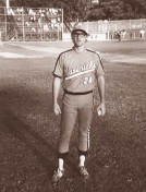 BATTERED BASTARDS OF BASEBALL Kurt Russell in uniform for the Portland Mavericks
