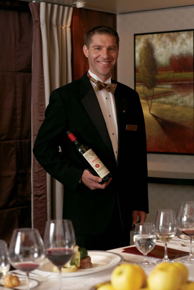 Crystal Cruises Sommelier