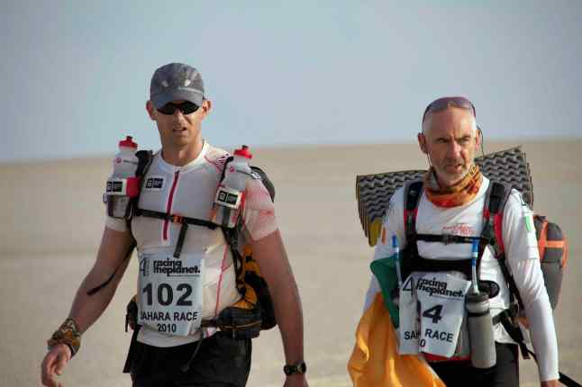 Dave & Ricky in Desert Runners (Courtesy: Desert Runners)
