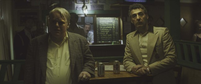 God's Pocket - Philip Seymour Hoffman and John Turturro (Photo credit: Lance Acord)
