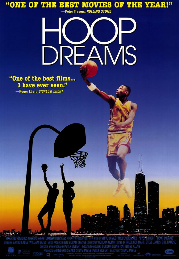 an analysis of hoop dreams a film by steve james Film reviews review: 'hoop dreams' hot docs 2016 by jason gorber • published april 29th, 2016comments courtesy of hot docs hoop dreams (usa, 179 min 1994)dir steve james.