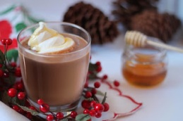 Hot Chocolate Peanut Butter and Honey