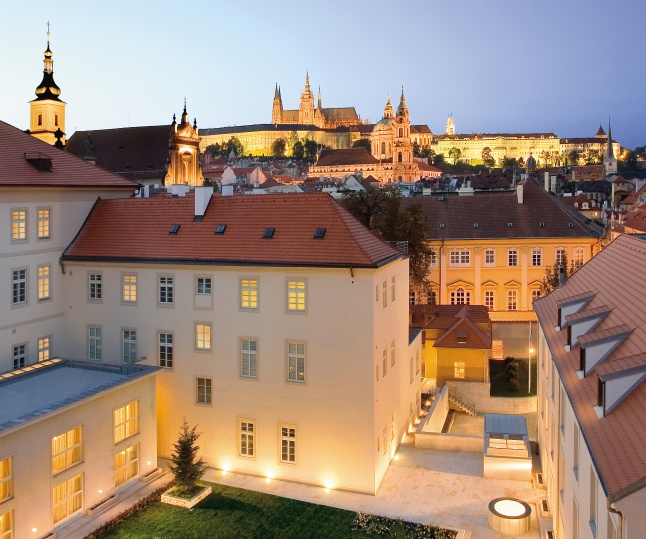 The MANDARIN ORIENTAL, PRAGUE is an intimate hotel located in a former Dominican monastery set amidst the palaces and gardens of Prague's historic Malá Strana district.