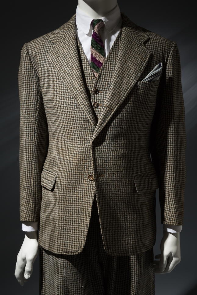 Anderson & Sheppard, Man's suit, Wool, 1935, London, Collection of Steven Hitchcock