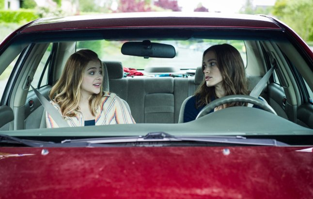 Laggies -Chloe Moretz and Keira Knightley (Photo by Barbara Kinney - Laggies Pictures LLC)