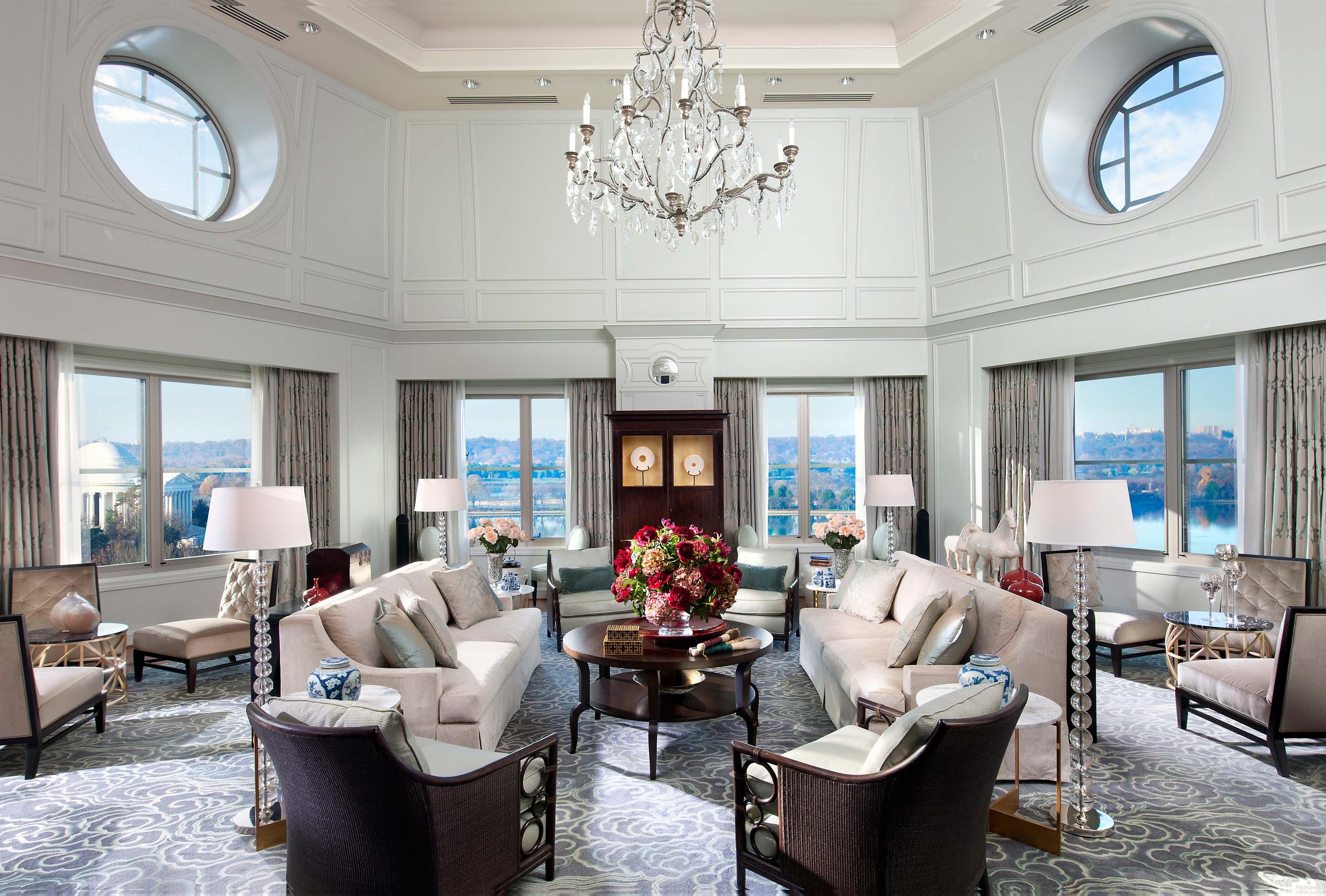 Mandarin oriental washington dc debut muze restaurant - Washington dc suites hotels 2 bedroom ...