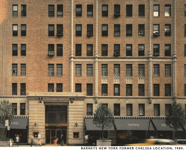 Barneys New York Former Chelsea Location, 1989. (PRNewsFoto/Barneys New York)