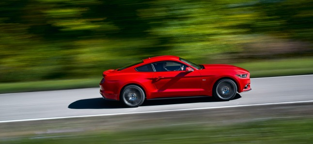 All-new Ford Mustang.  (PRNewsFoto/Ford Motor Company)