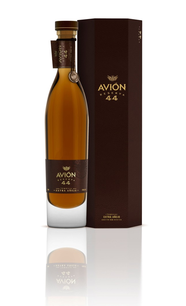 TEQUILA AVION(TM) INTRODUCES AVION RESERVA 44 | The World's Best Tasting Tequila Unveils Exclusive Release of Extra Anejo. (PRNewsFoto/Tequila Avion)