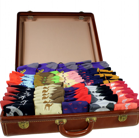 oxfords Dress Socks - Suitcase of Socks Suitcase