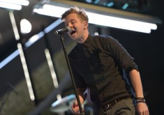 People's Choice Awards Rehearsals: OneRepublic performing at the Nokia Theatre L.A. Live on January 7, 2014 in Los Angeles, California.