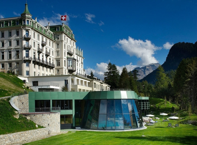 The Grand Hotel Kronenhof in Pontresina, Switzerland is the #1 hotel in the world, according to the 2014 TripAdvisor Travelers' Choice Awards for Hotels. (A TripAdvisor traveler photo)
