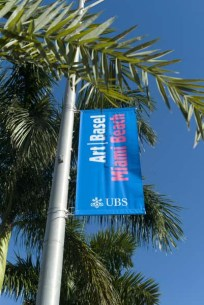 Art Basel Miami Beach 2010 | Flagpole banners