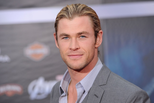 """Chris Hemsworth at the Premiere Of Marvel Studios' """"Marvel's The Avengers"""" - Arrivals  at the El Capitan Theatre on April 11, 2012 in Hollywood, California."""