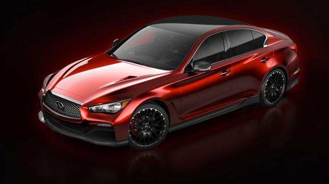 Infiniti Reveals First Image of Q50 Eau Rouge Concept.  (PRNewsFoto/Infiniti Motor Company Ltd.)