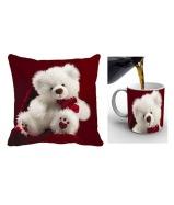 Cushion cover & mug 349