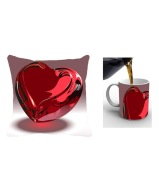 Cushion cover with mug 349