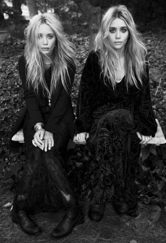 Elizabeth and James founders and designers Ashley Olsen ...