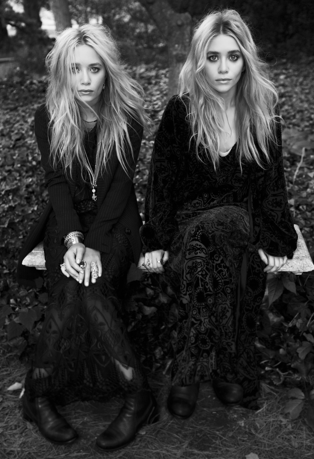 Elizabeth and James founders and designers Ashley Olsen and Mary-Kate Olsen