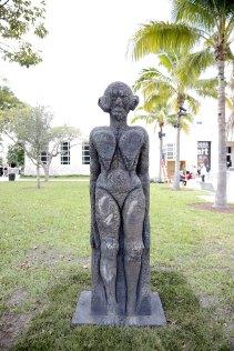 Art Basel in Miami Beach 2013 | Public | Salon 94 | Huma Bhabha | | God of Some Things, 2011