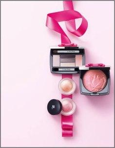 La Base Pro, $42; Color Design Eye Brightening All-In-One 5 Shadow & Liner Palette, $50;