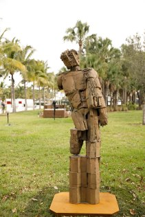 Art Basel in Miami Beach 2013 | Public | Anton Kern Gallery | Matthew Monahan | A Lifer, 2013