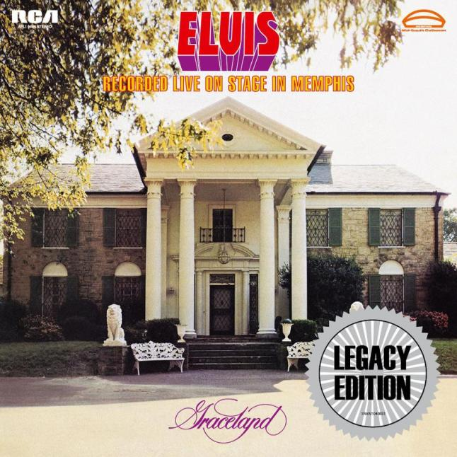 """Elvis Recorded Live On Stage In Memphis"" to be released March 18.  (PRNewsFoto/Legacy Recordings)"