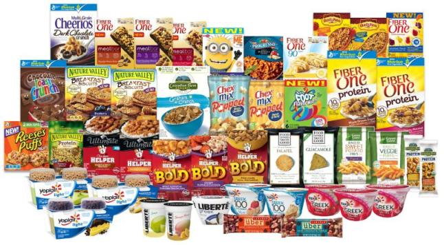 Today General Mills announced an aggressive lineup of new products set to bring more consumers to General Mills' leading brands and drive profitability for the company. More than 50 new items will debut from the company's U.S. Retail business with dozens more rolling out in international markets during the second-half of the company's fiscal 2014, which ends in May.  (PRNewsFoto/General Mills)