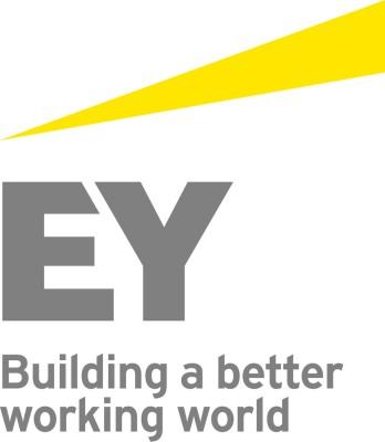 Building a better working world logo.  (PRNewsFoto/Ernst & Young)