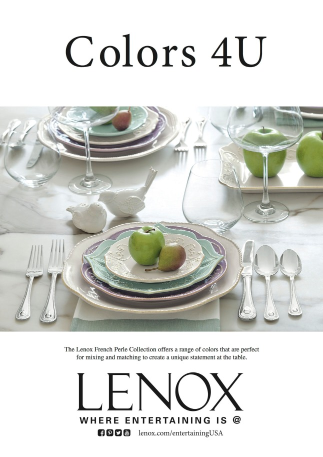 Lenox Corporation Celebrates 125 Years Of American Style, Design And Craftsmanship.  (PRNewsFoto/Lenox Corporation)