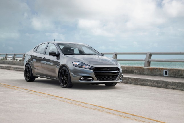 2014 Dodge Dart Blacktop.  (PRNewsFoto/Chrysler Group LLC)