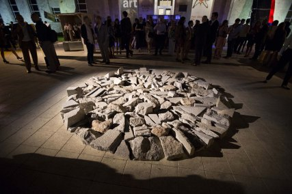 Art Basel in Miami Beach 2013 | Public Opening Night | Sperone Westwater | Richard Long | Higher White Tor Circle, 1996