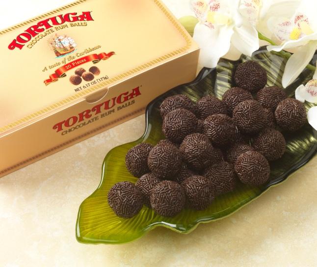 Tortuga Rum Cake Company Chocolate Rum Balls