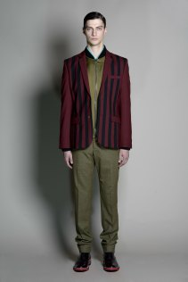 Jonathan Saunders 2014 Fall/Winter Collection Featuring Merino woolfrom the Woolmark Company