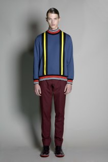 Jonathan Saunders 2014 Fall/Winter Collection Featuring merino wool from the Woolmark Company