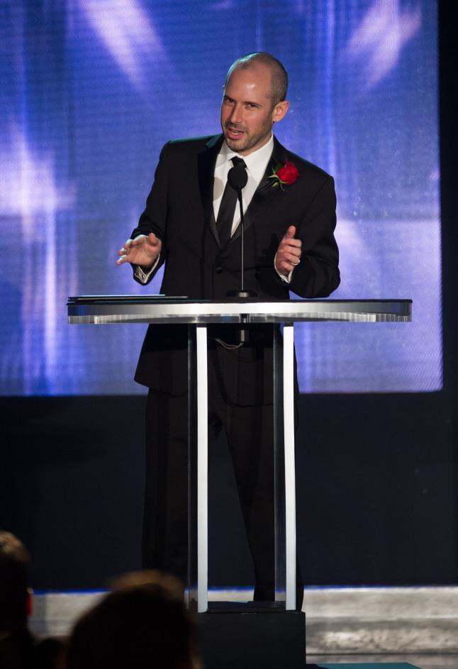 Jeremy Selan during the Academy of Motion Picture Arts and Sciences' Scientific and Technical Achievement Awards on February 15, 2014, in Beverly Hills, California.