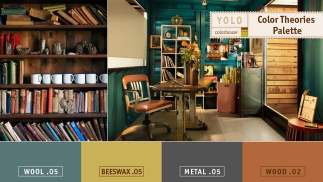 The Color Theories Palette from YOLO Colorhouse reflects the depth and sophistication of European salons filled with vibrant discussions about poetry, philosophy, and art. A nod to creative spirits and independent thinkers, these colors help you push design boundaries. (PRNewsFoto/YOLO Colorhouse)
