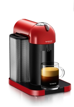 New Nespresso VertuoLine™ revolutionizes the way that coffee is brewed and enjoyed. A game changer in the single-serve market, this new system brews American-style, high-quality large-cup coffee and espresso.