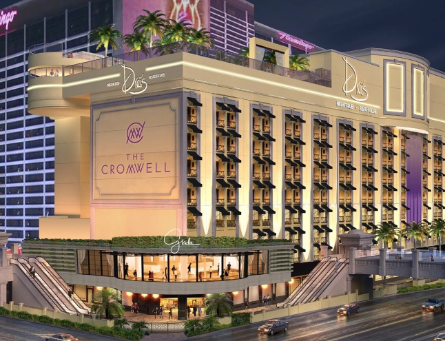 The Cromwell, will feature 188 rooms and suites, a 40,000 sq-ft casino, restaurant by first-time restaurateur Giada De Laurentiis and rooftop pool, day and nightlife venues by Victor Drai.