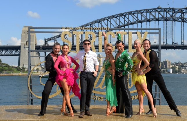 Baz Luhrmann and Ballroom Dancers