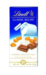 Lindt CLASSIC RECIPE Caramel with Sea Salt Bar