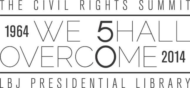 LBJ Presidential Library Civil Rights Summit logo.  (PRNewsFoto/LBJ Presidential Library)