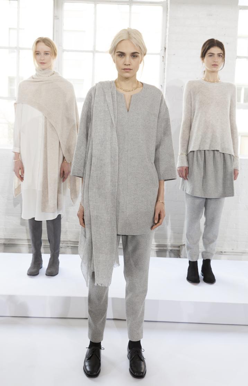 New York Ny February 12 2014 Models Show Off Dresses For Pr