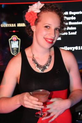 Naomi Levy Named US Finalist at the USBG Legacy Finals with her Guayaba Arabica.  (PRNewsFoto/United States Bartenders' Guild (USBG))