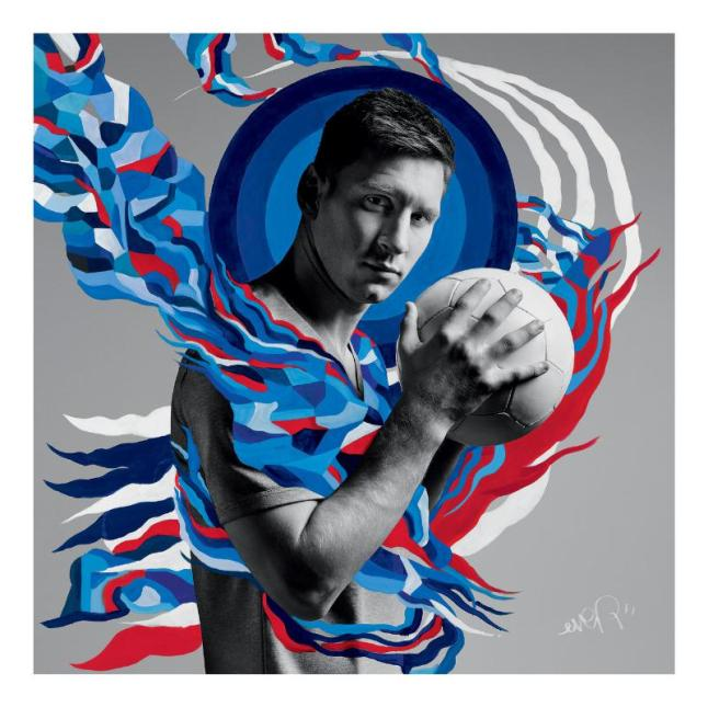 "Pepsi(R) Celebrates ""The Art of Football"".  (PRNewsFoto/PepsiCo)"