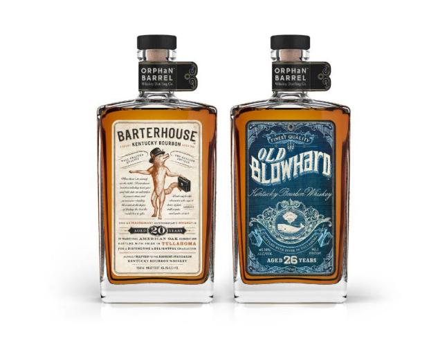 The goal of The Orphan Barrel Whiskey Distilling Company is to locate lost and forgotten barrels of whiskey from around the world and share them with discerning adult fans.  The first two variants to be released from the company will include the 20-year-old Barterhouse Whiskey and the 26-year-aged Old Blowhard Whiskey.  (PRNewsFoto/DIAGEO)