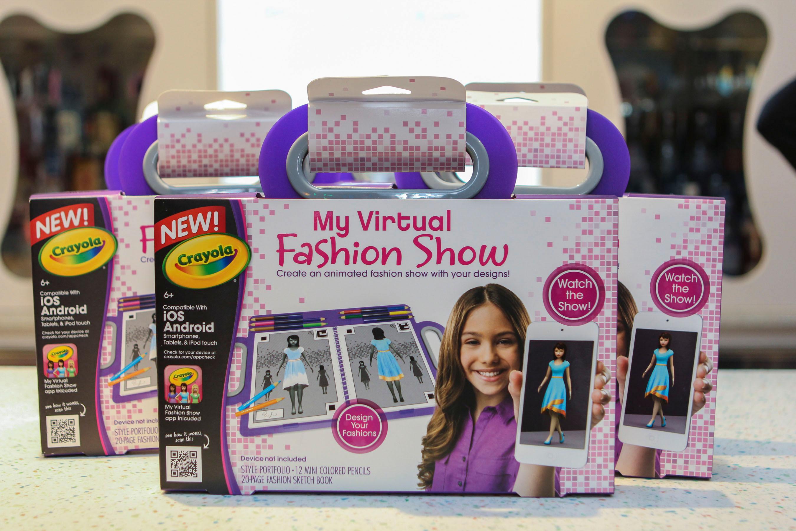 Crayola Fashion Show 2013 Crayola Launches My Virtual