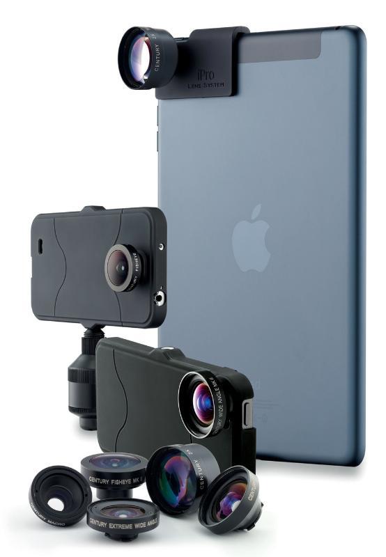 Take pro photos & video wherever you take your smartphone--with the iPro Lens System by Schneider Optics.  (PRNewsFoto/Schneider Optics)