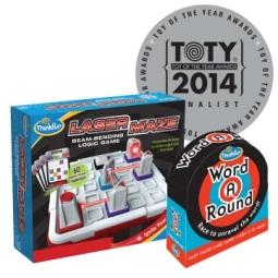 ThinkFun Laser Maze and WordARound - TOTY Finalists